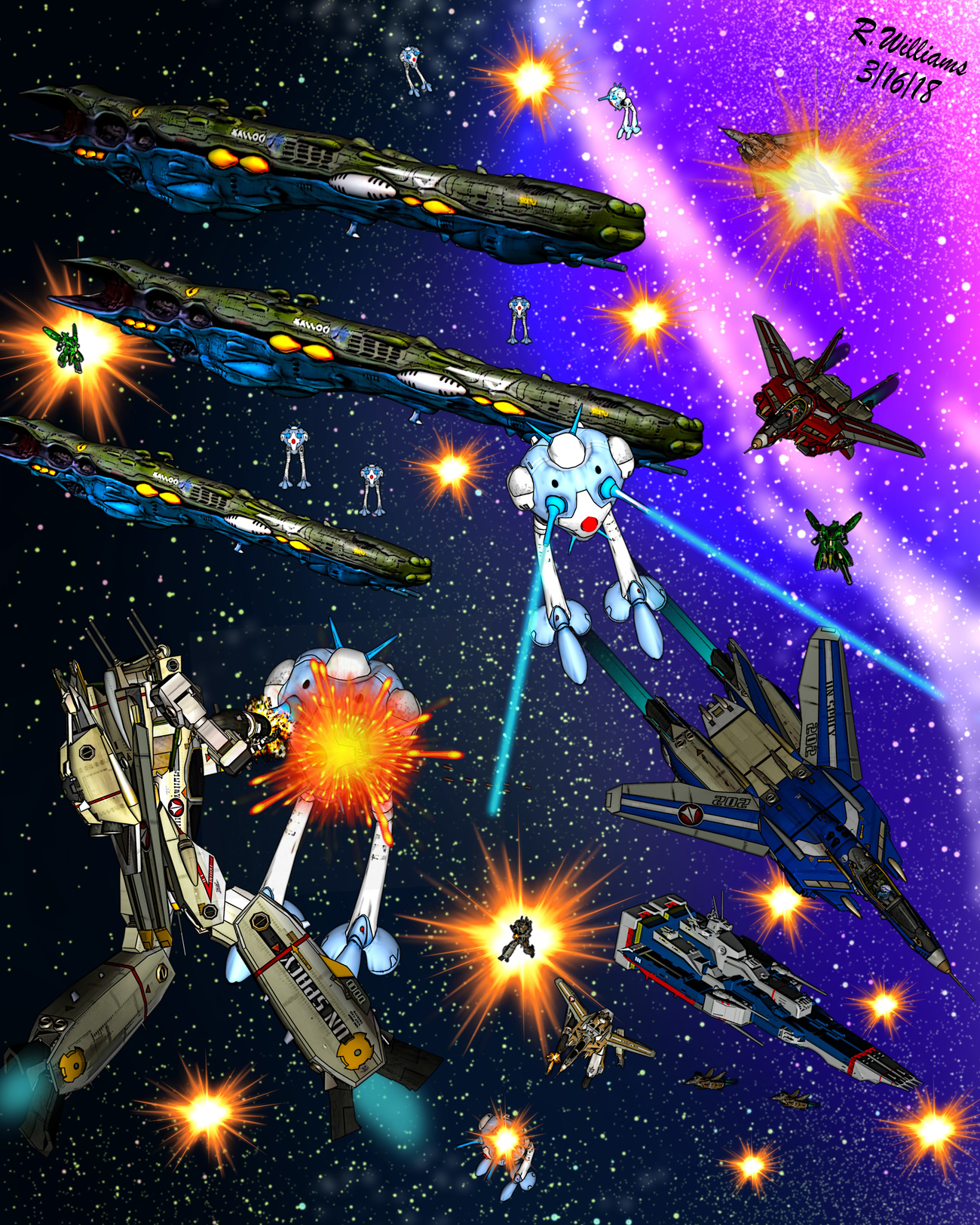 Macross Battle