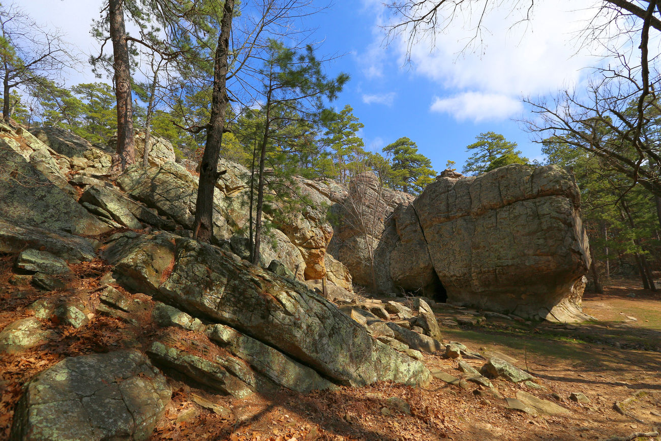 Robber's Cave State Park Oklahoma