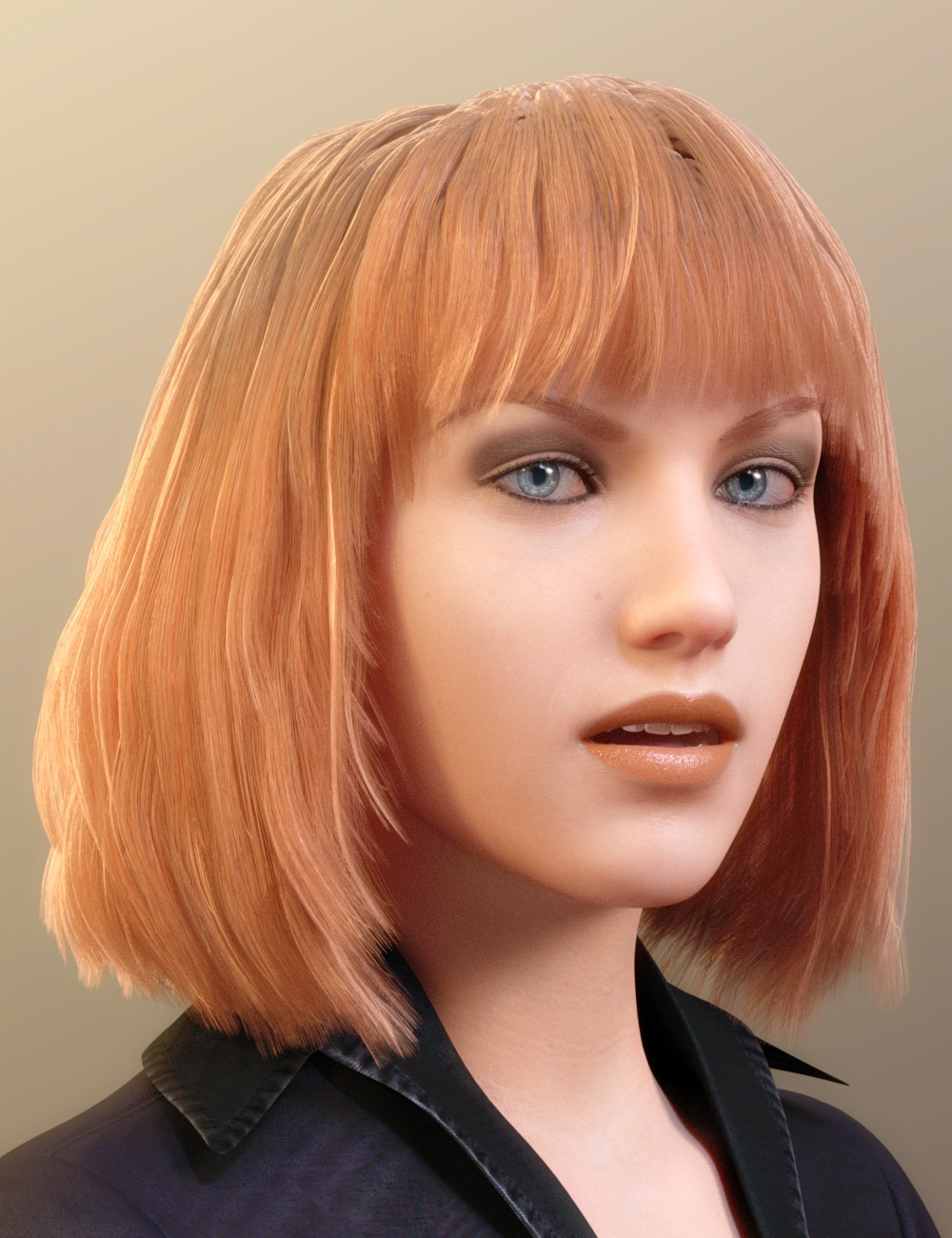 Paige Hair for Genesis 8 Female * * by PhilW DAZ|Studio