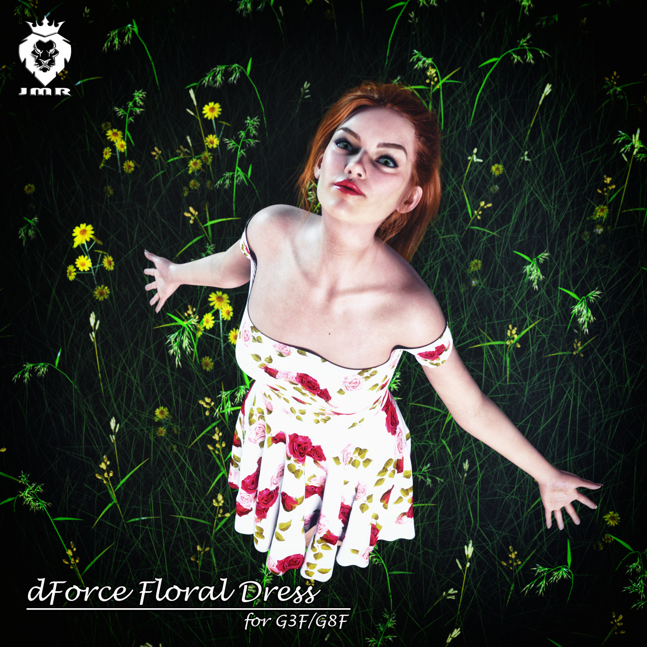 Floral Dress by JaMaRe
