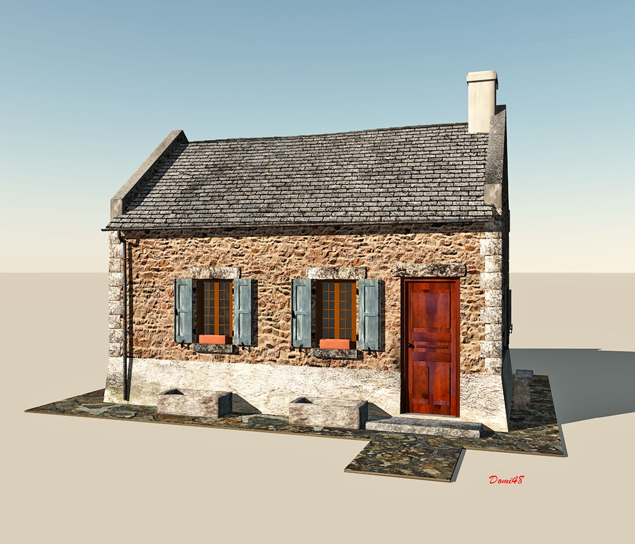 Easy house by Domi48