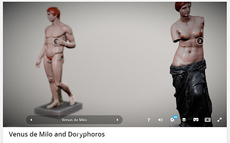 Venus de Milo and Doryphoros