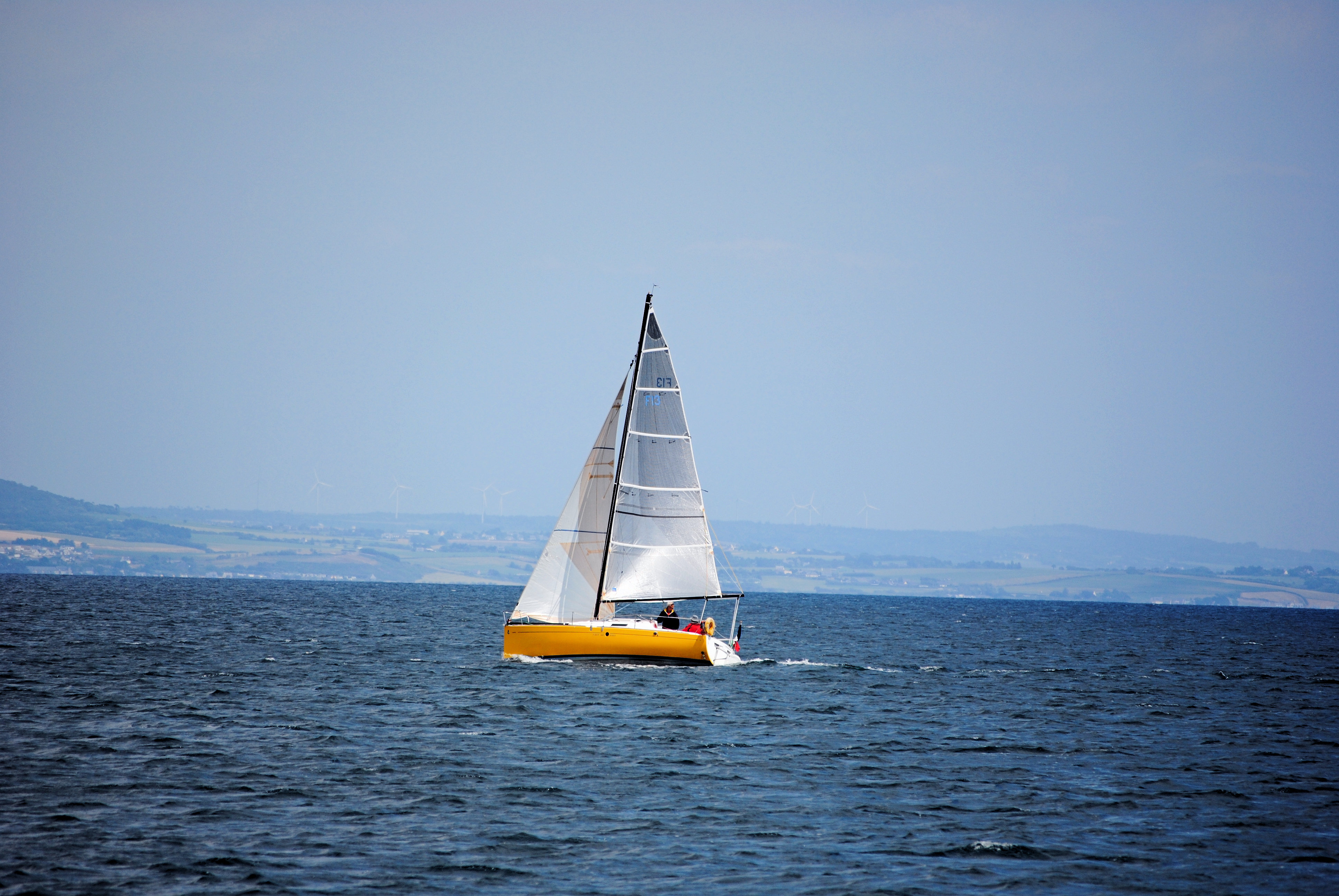 Small sailboat by kordouane Photography Sea/Undersea