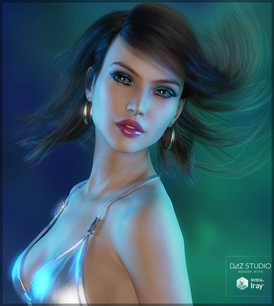 Color Splash Green and Blue by Sveva