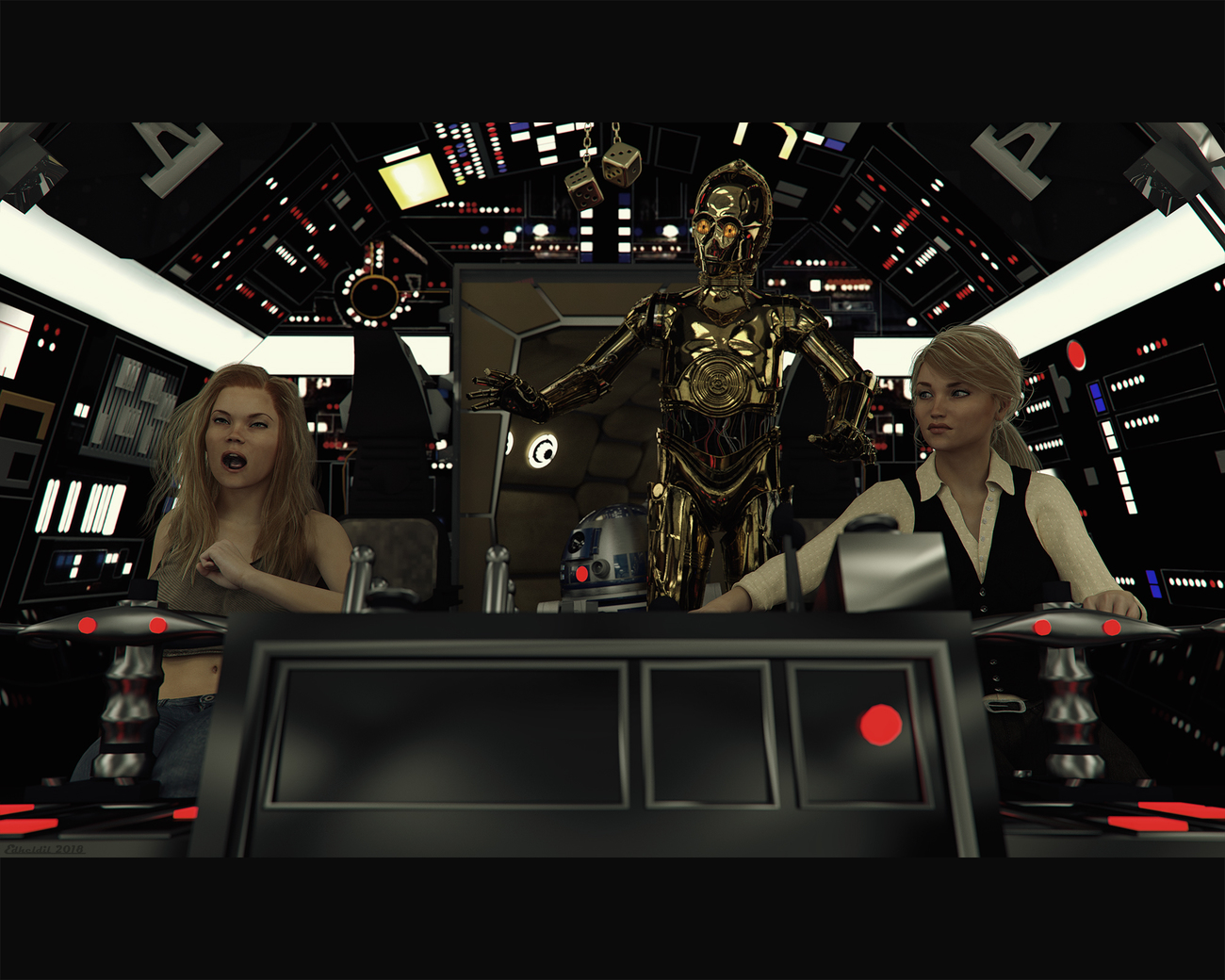 Star Girls: Burps like a Wookiee!