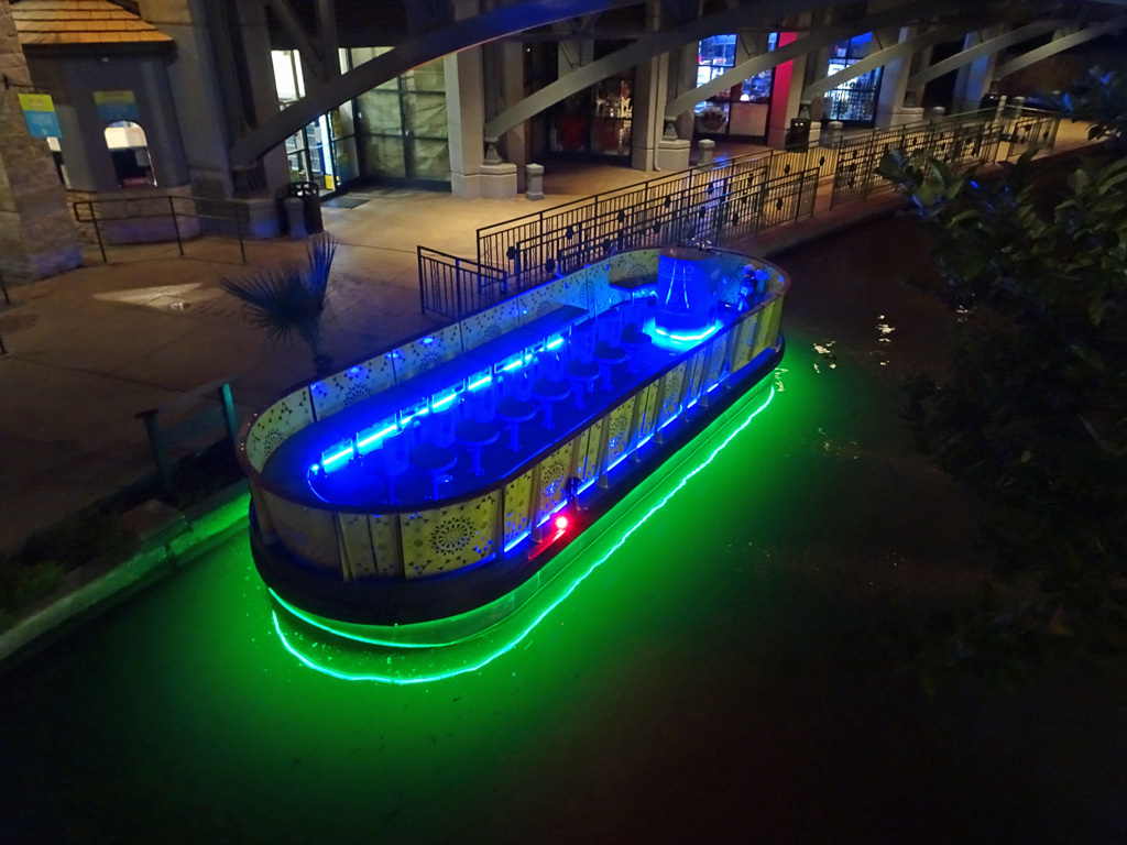 Riverwalk Boat at Rest