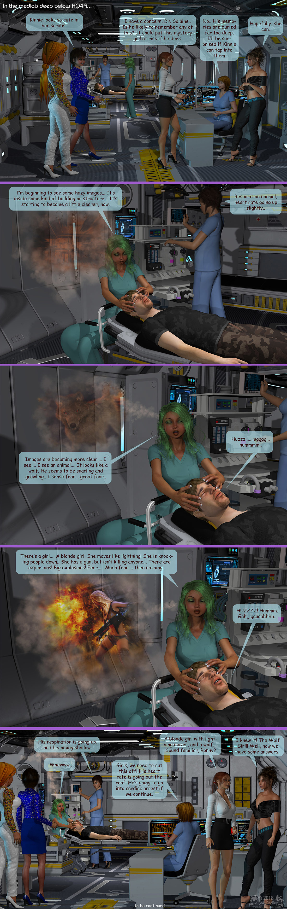 Girls From T.N.A: Breitlenger Jar: Ch 6 Page 18