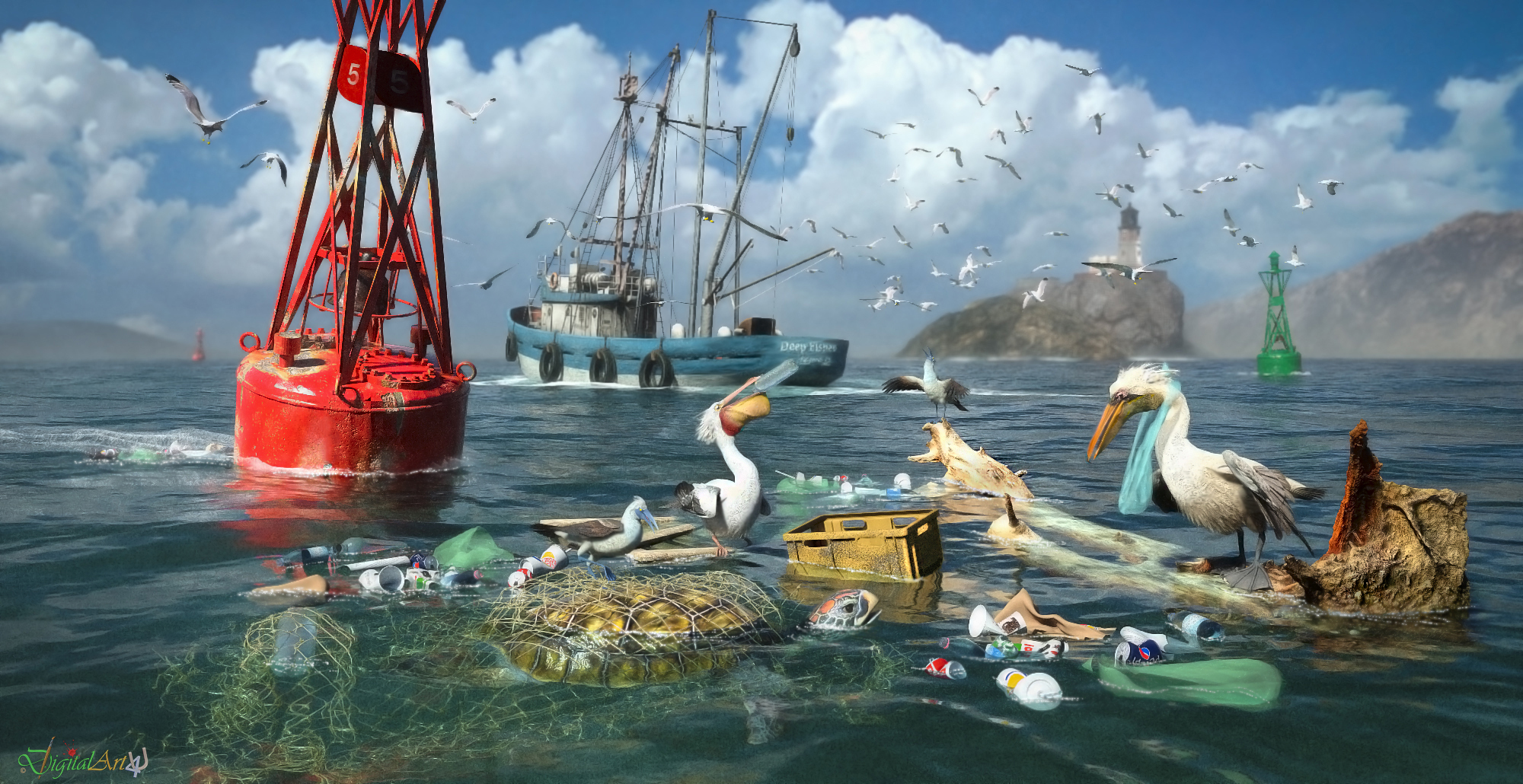 Surviving the Garbage Tide