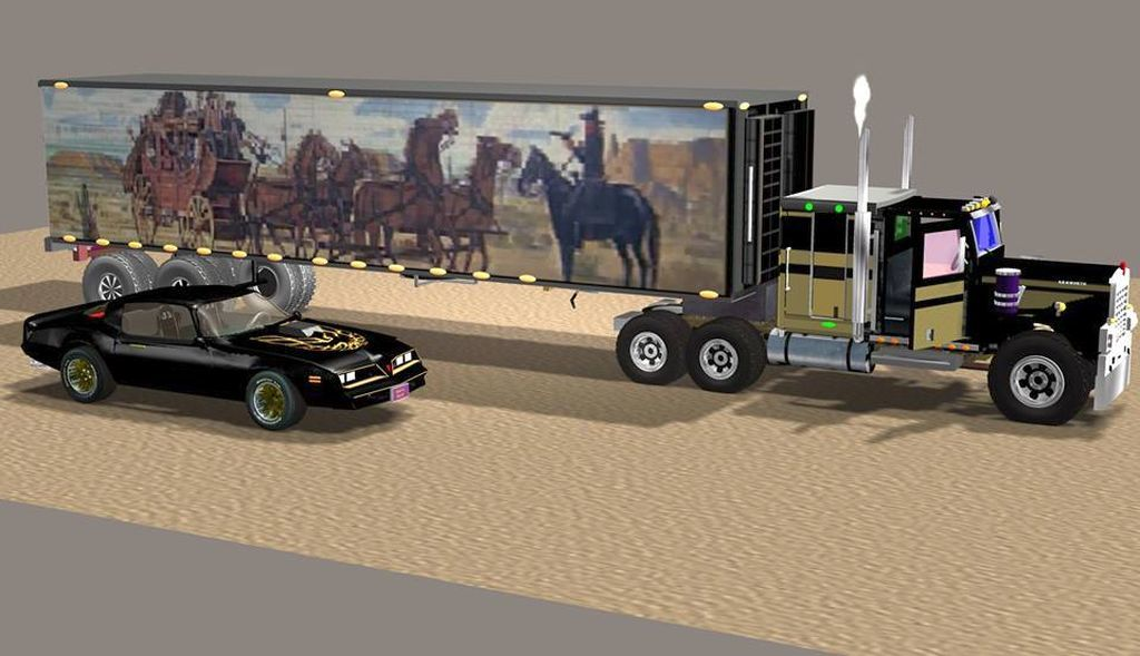 smokey and the bandit truck ta by inkev1961 poser film tv. Black Bedroom Furniture Sets. Home Design Ideas