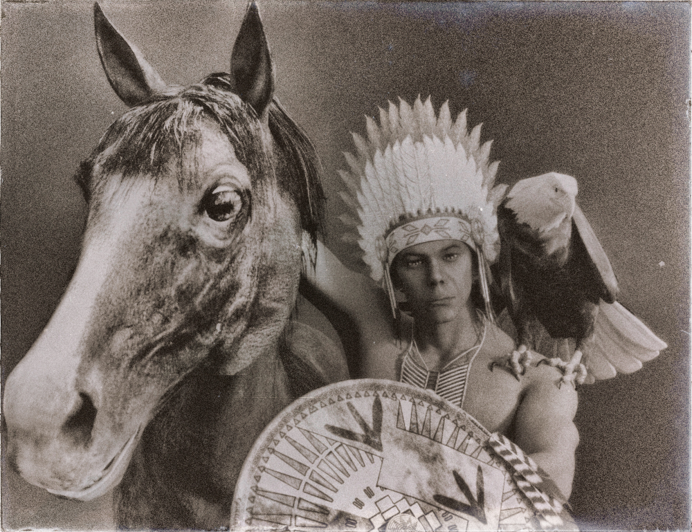 Old photo of Cheyenne chief