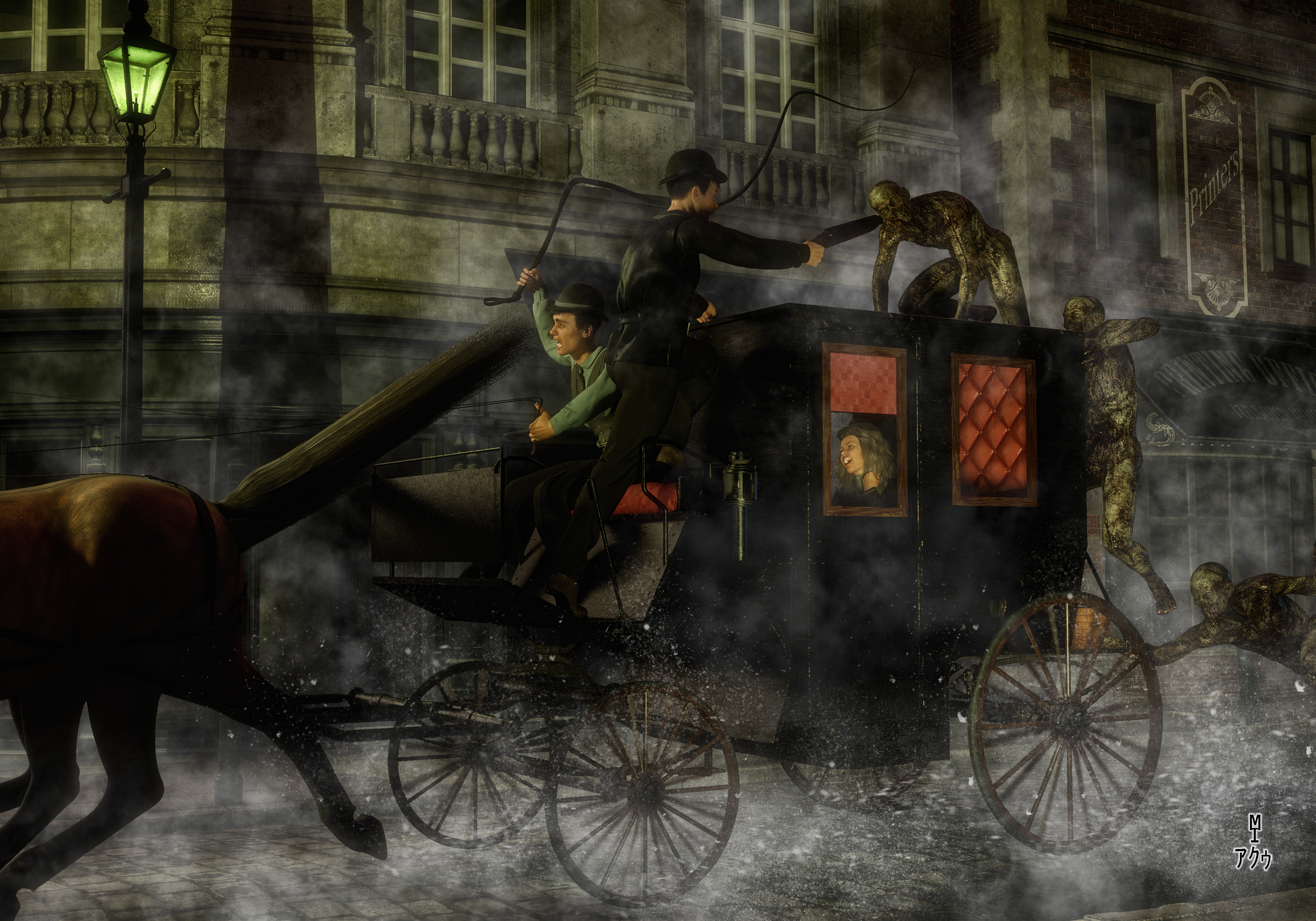 The Zombies of Old London