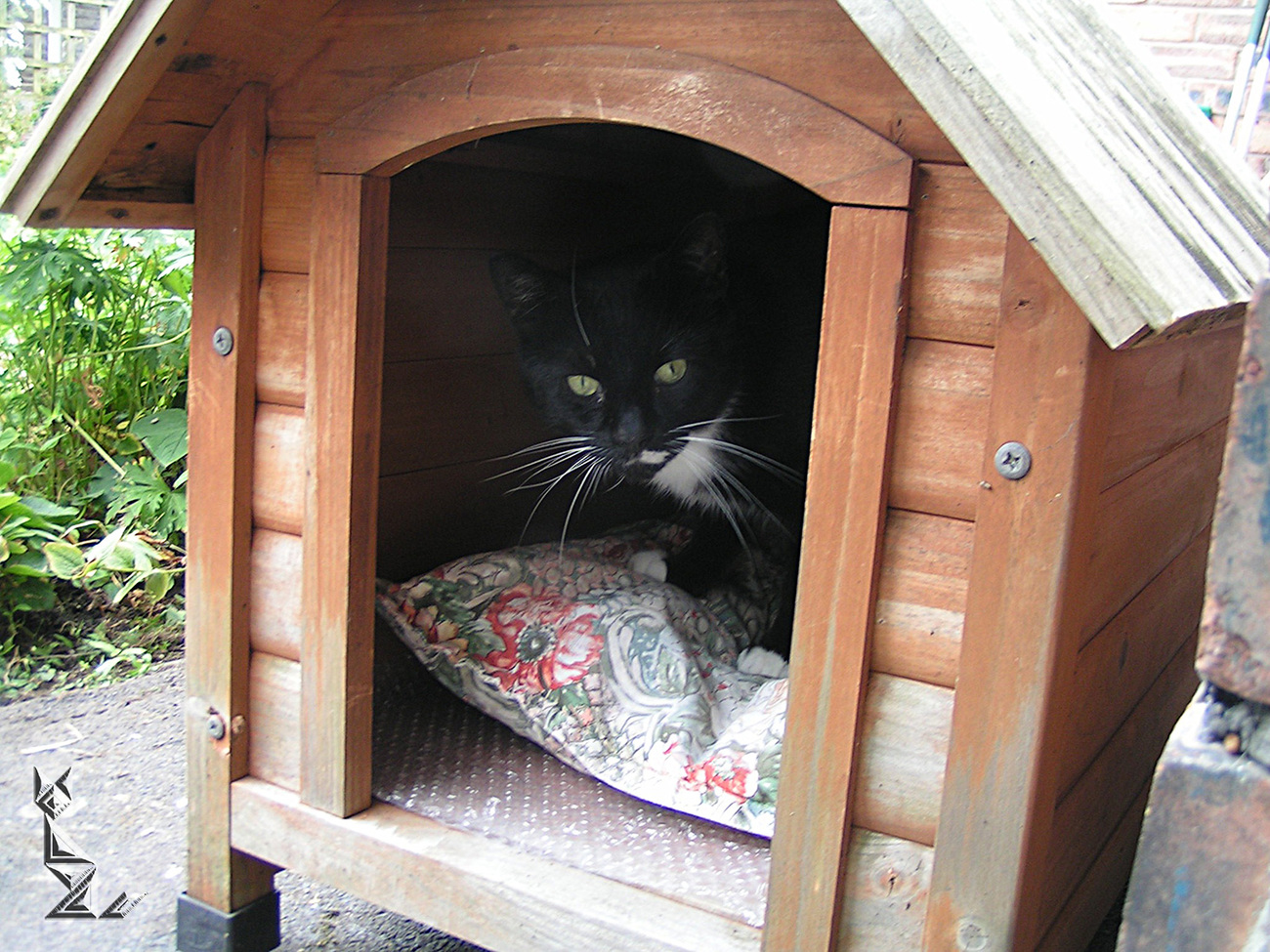 Checking out the extra accomodation ...