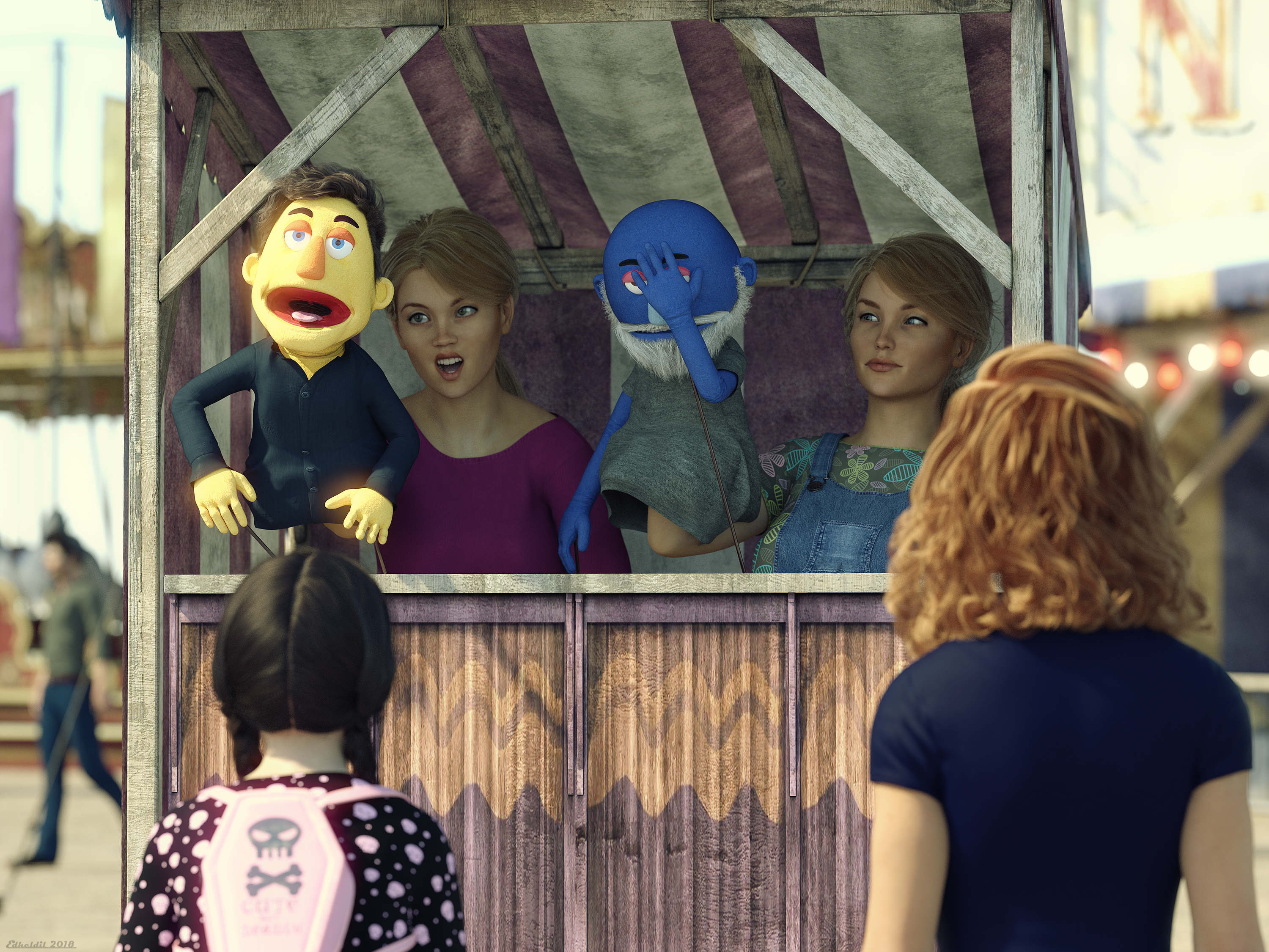 The Puppet Show!