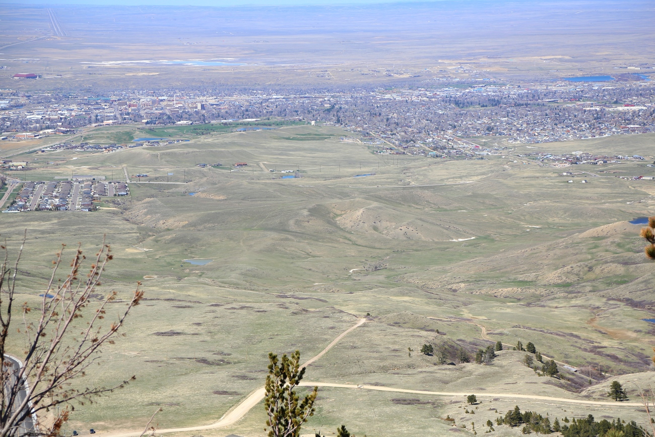 another view of Casper, Wyoming