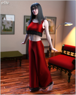 a6134c9fa2 Lounging Pant Suit for Lully by PaperTiger