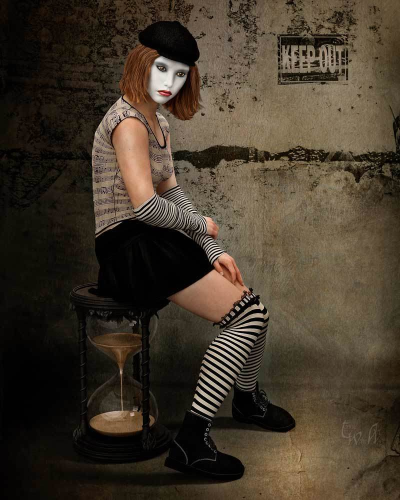 The Lonely Mime