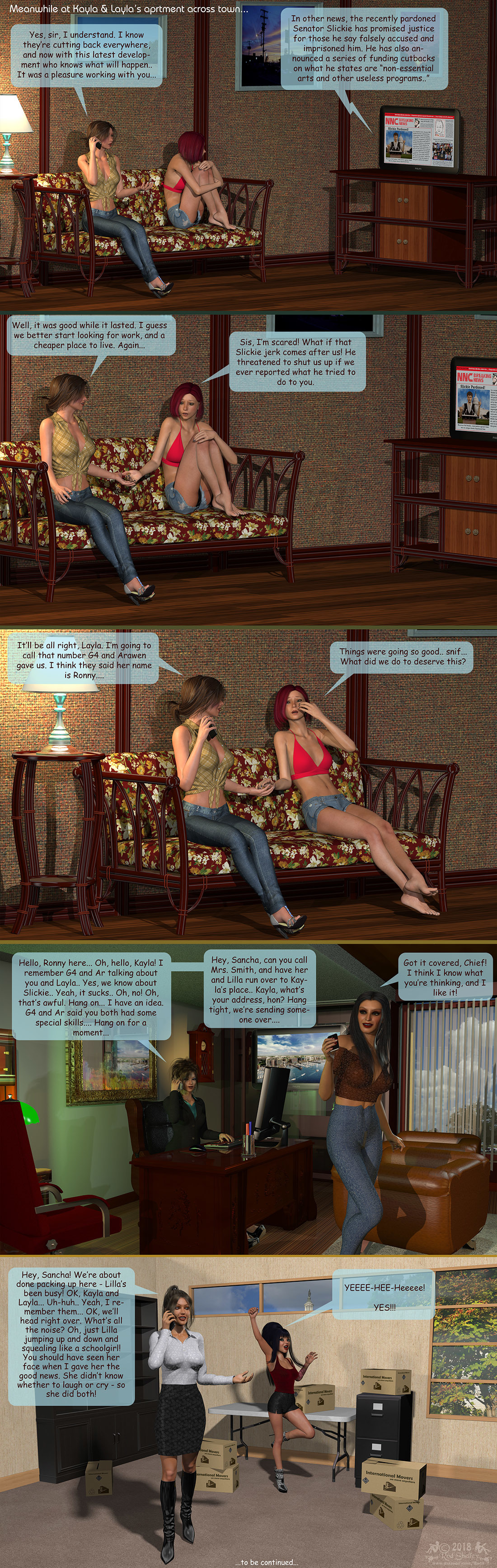 Girls From T.N.A: Breitlenger Jar: Ch 6 Page 24
