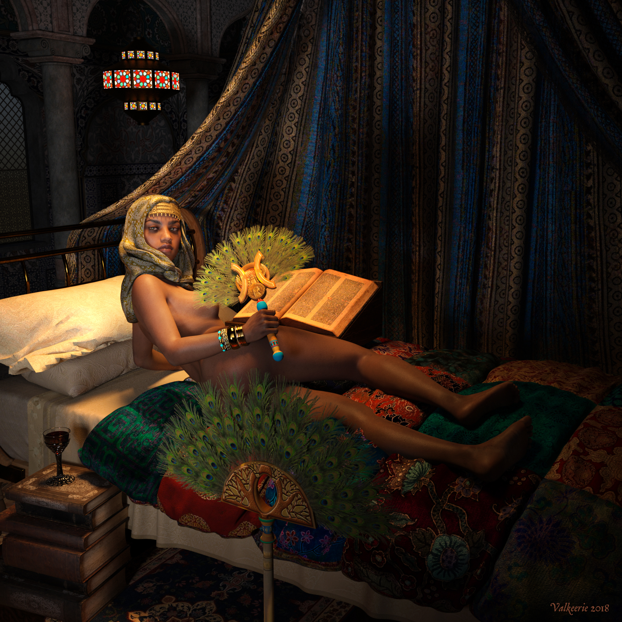 Odalisque Revisited