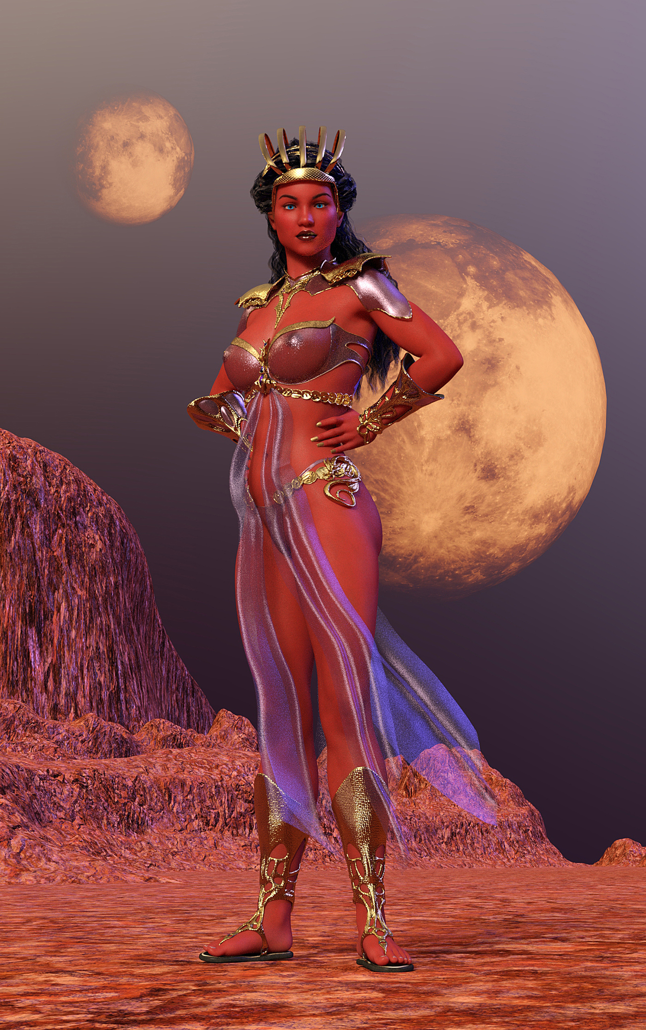 Dejah Thoris Princess of Mars