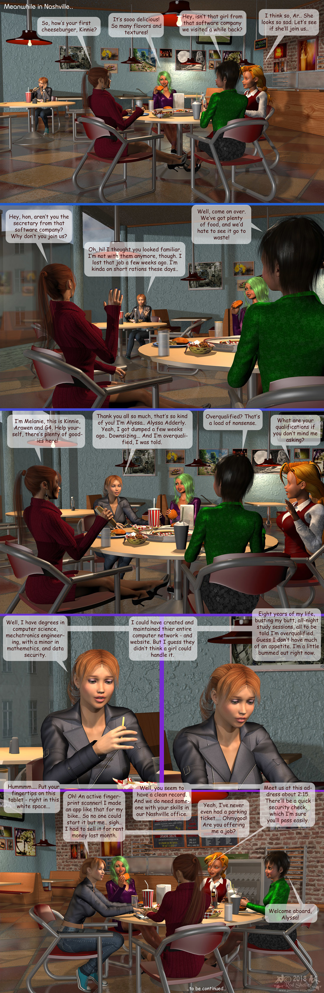 Girls From T.N.A: Breitlenger Jar: Ch 6 Page 25