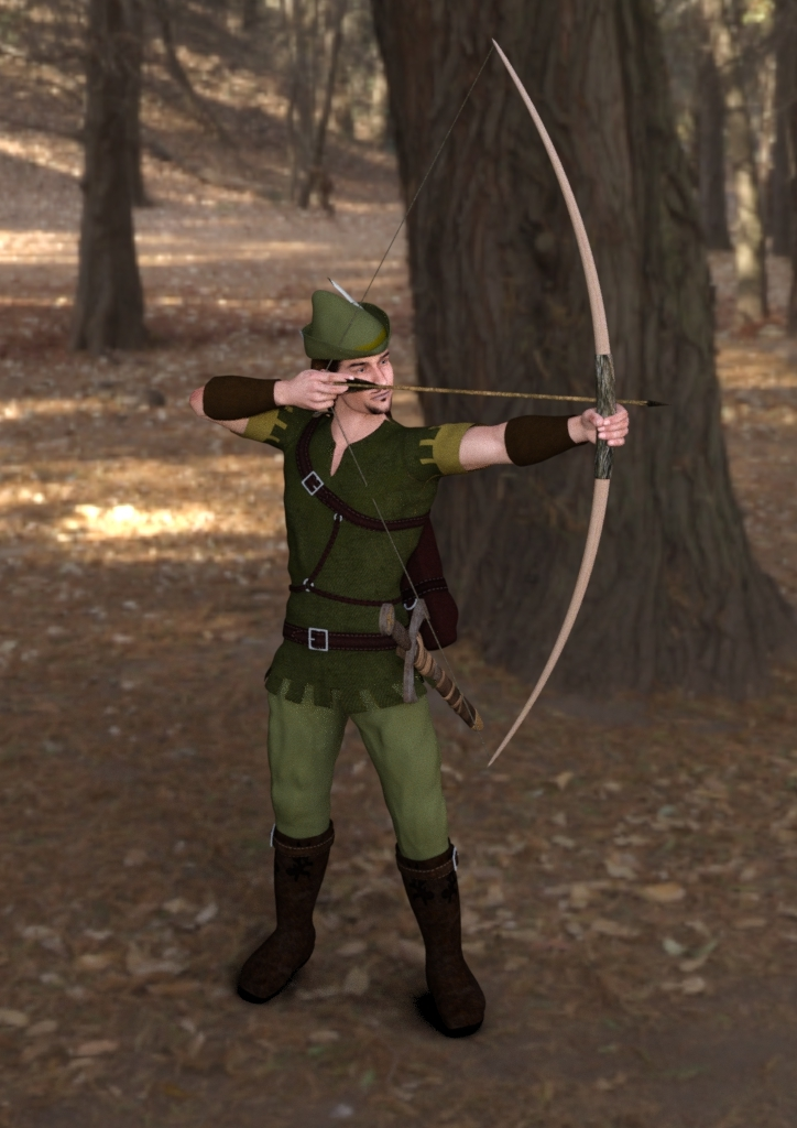 Master of the Sherwood Forest