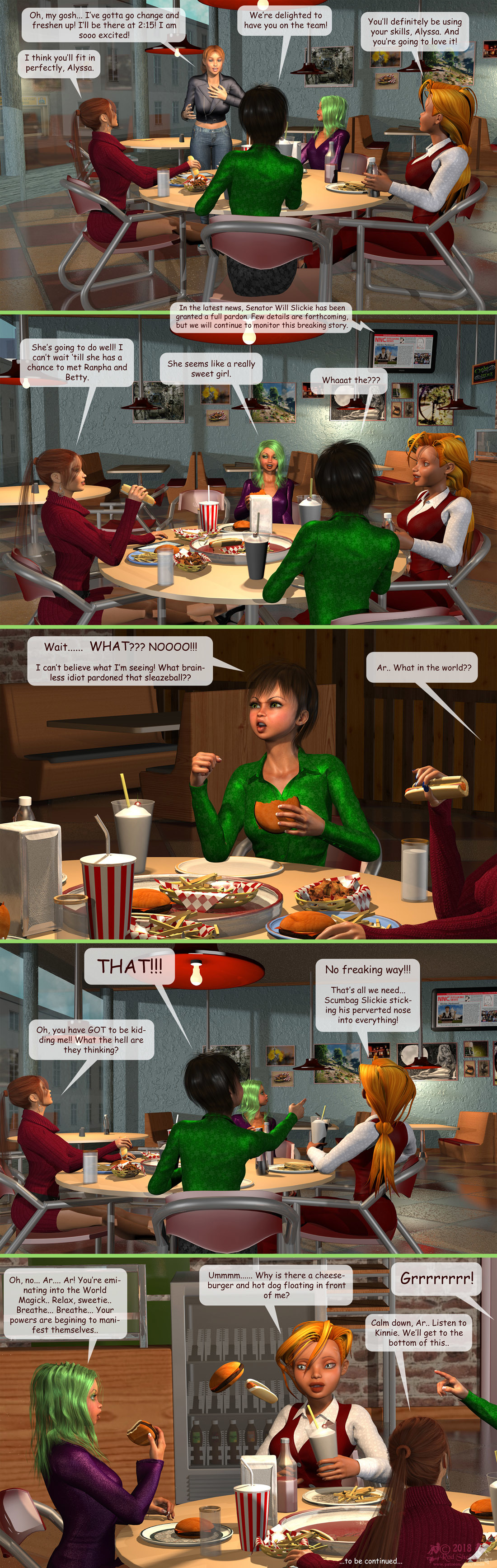 Girls From T.N.A: Breitlenger Jar: Ch 6 Page 26