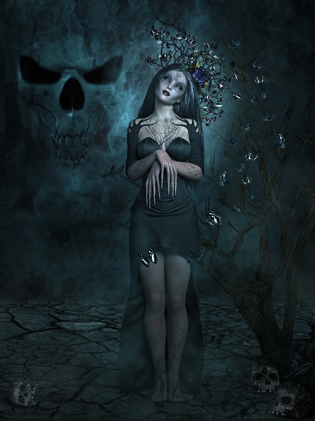 Death becomes her by ilona