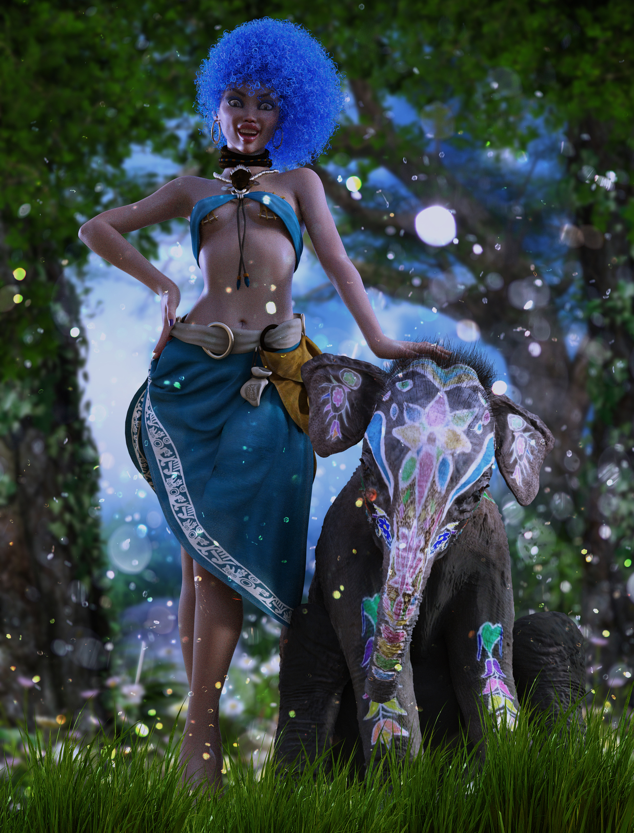 Africa for G8F by Anain & Belladona