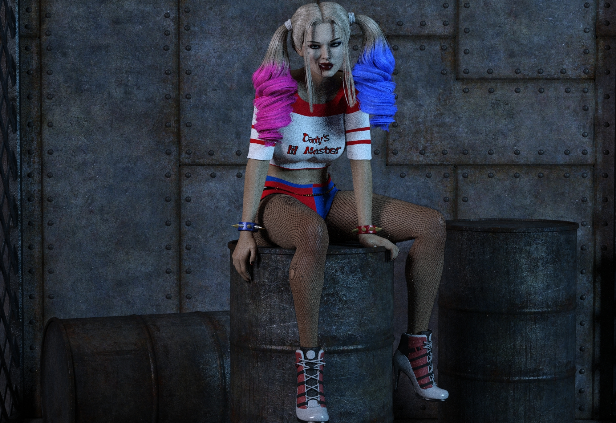 Don't piss me off, Puddin'