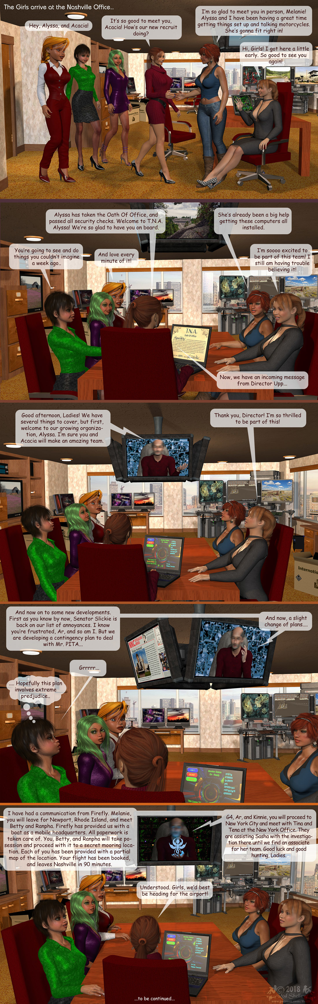 Girls From T.N.A: Breitlenger Jar: Ch 6 Page 27