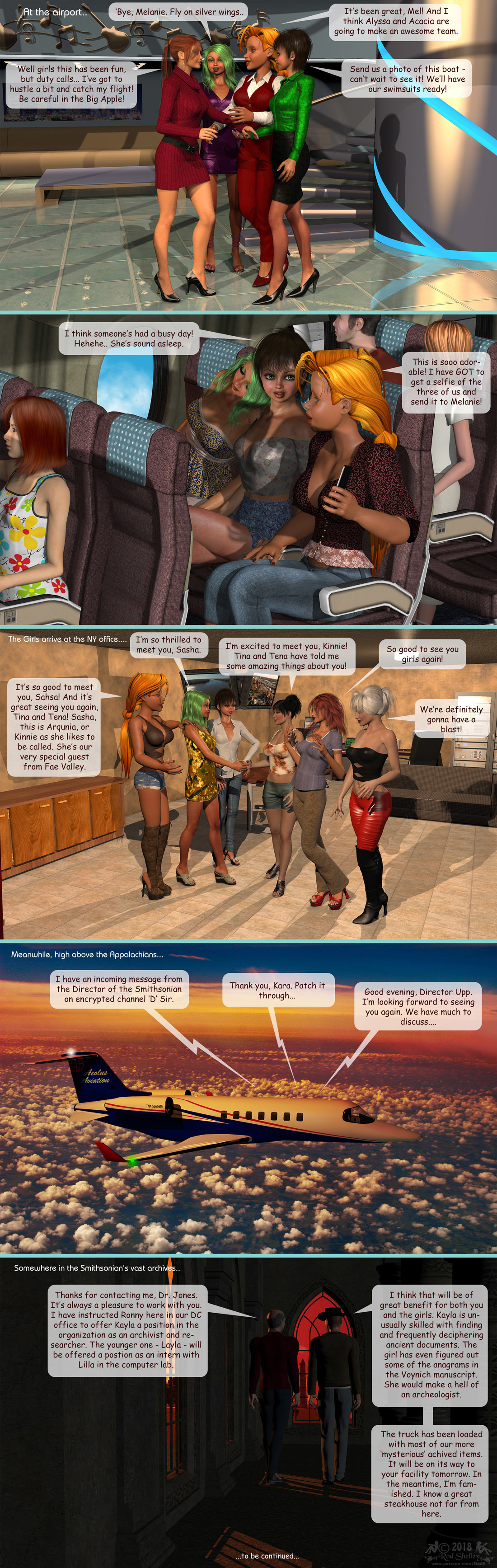 Girls From T.N.A: Breitlenger Jar: Ch 6 Page 28