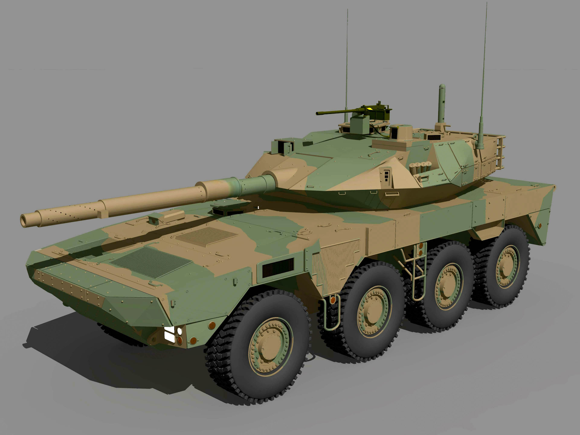 Type16 MCV (Camouflage) by Ark_Pilot Shade3D Military