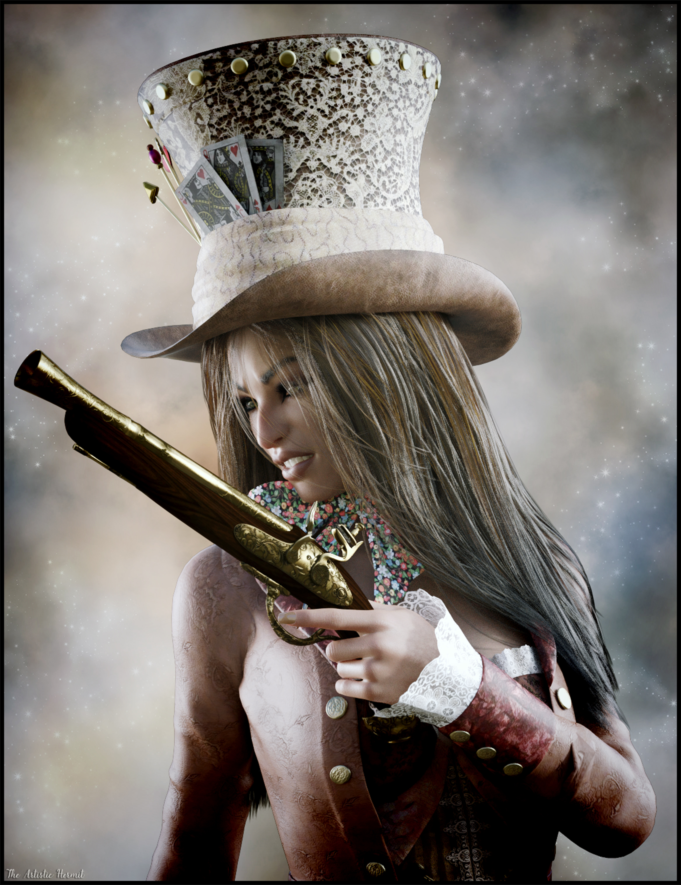 Just A Girl, With A Gun