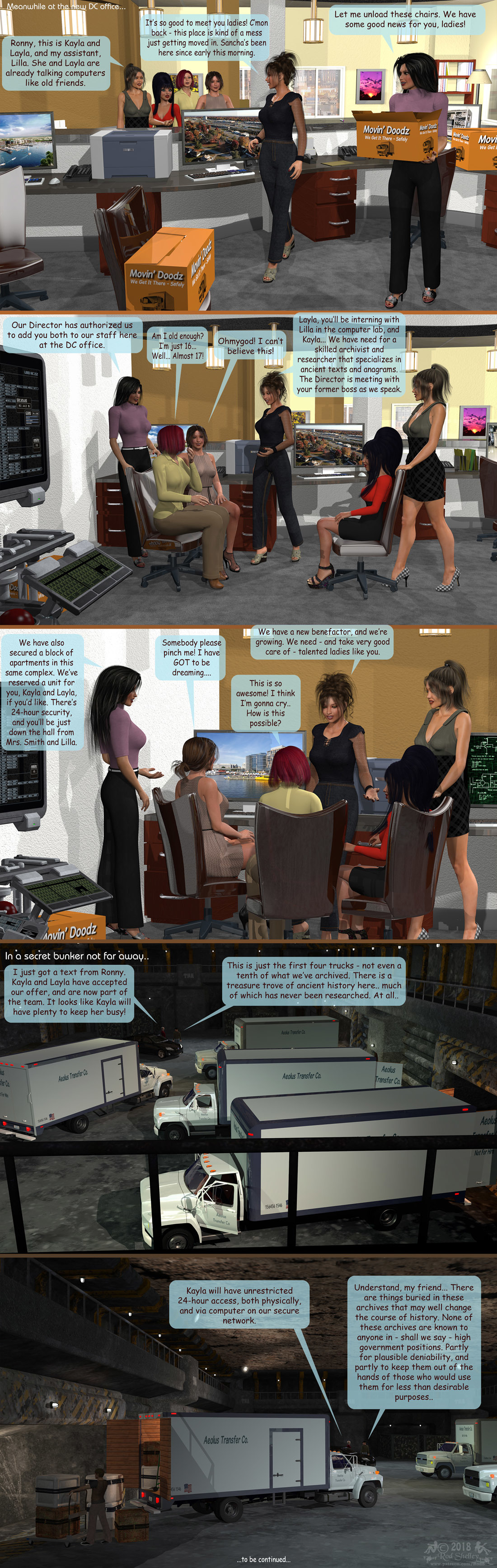Girls From T.N.A: Breitlenger Jar: Ch 6 Page 29