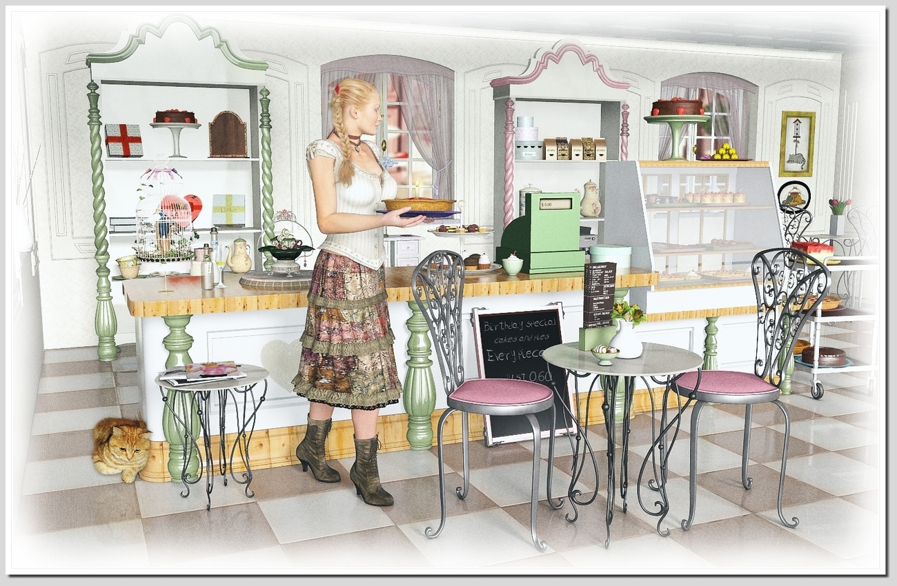 Pastry Shop (for Leije)