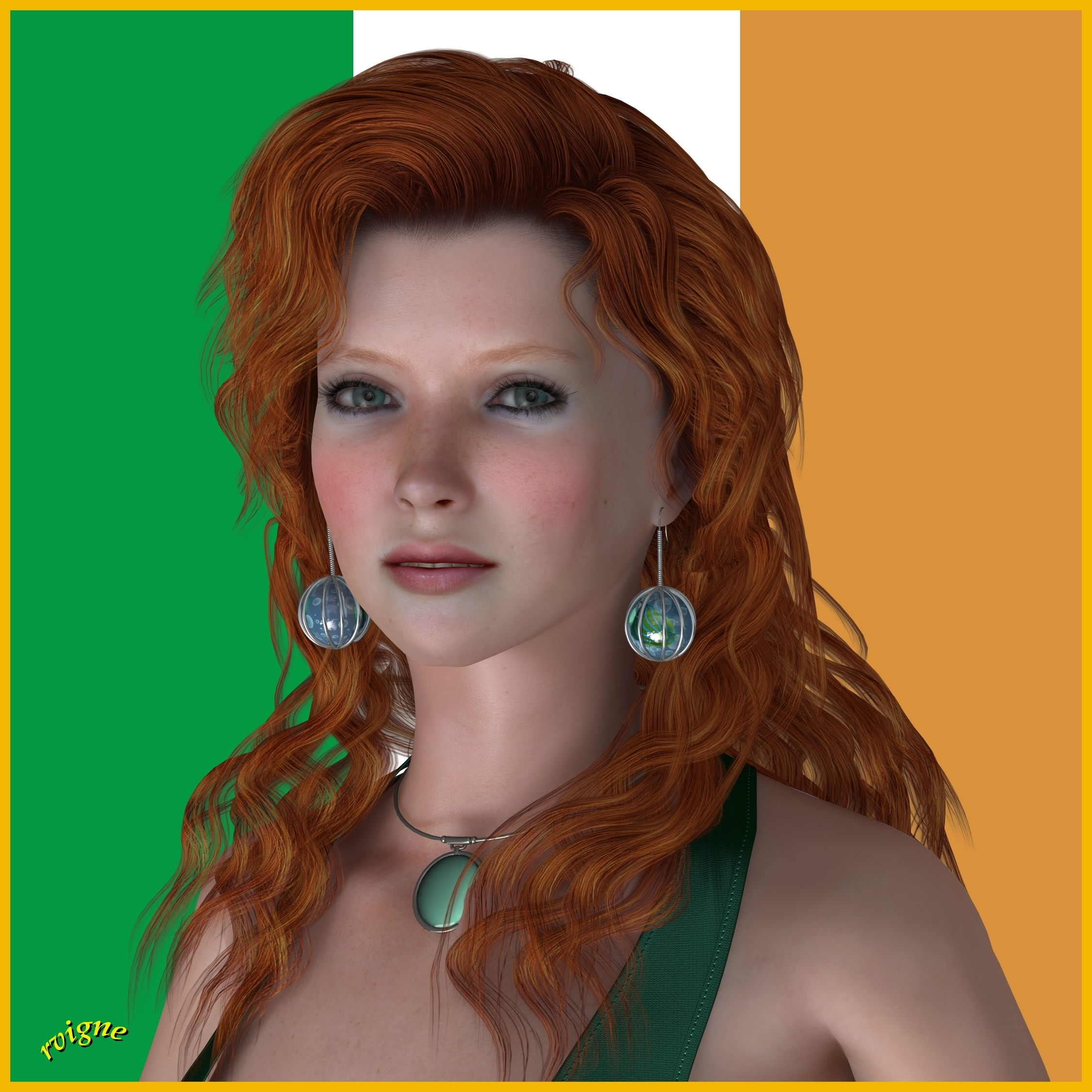 Irish Model by Vigne33 Poser Realism