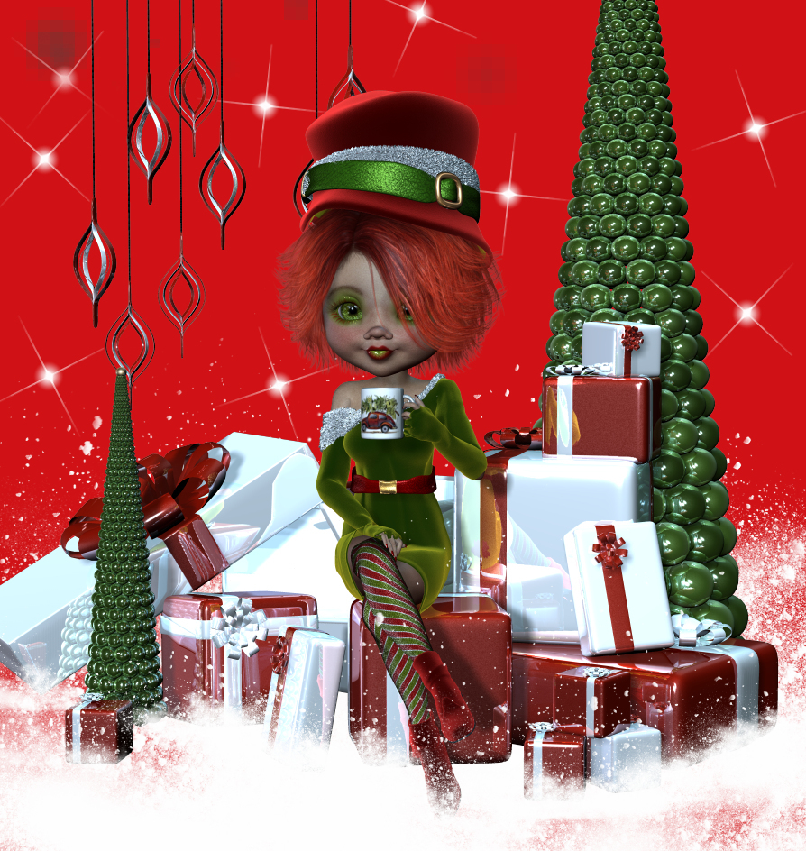 Merrry Christmas!!! Modern Holiday with Emery