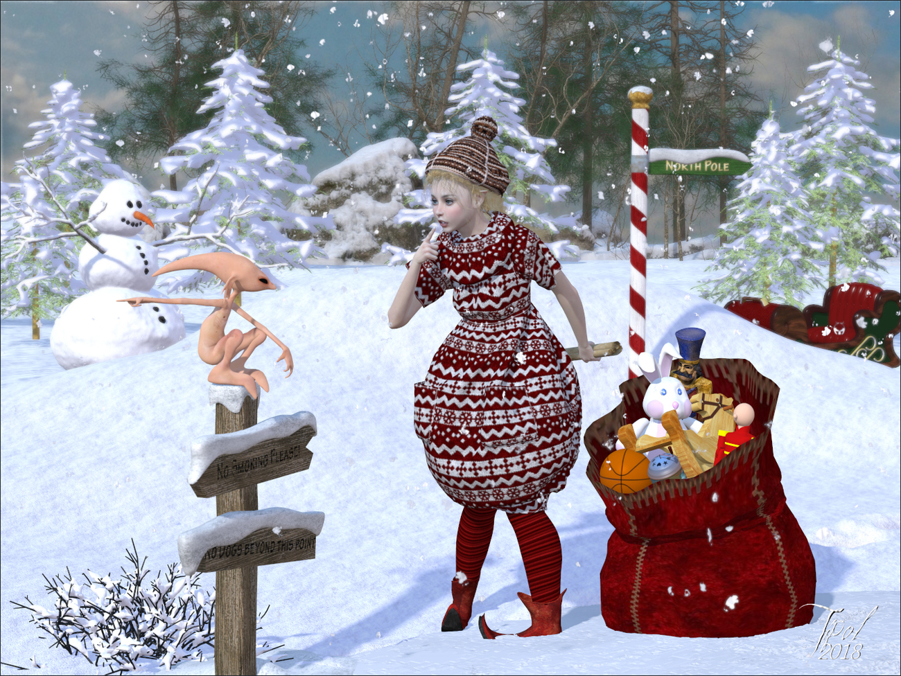 Happy Christmas by Tipol