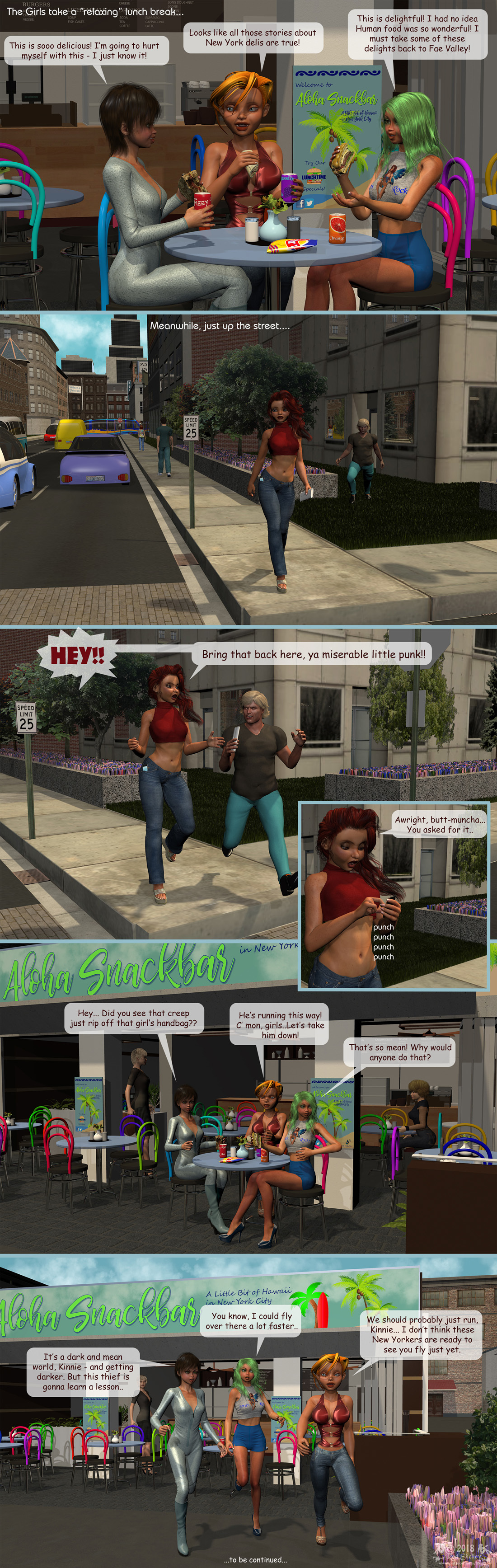 Girls From T.N.A: Breitlenger Jar: Ch 6 Page 30