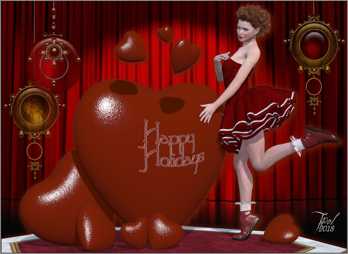 Happy Holidays by Tipol