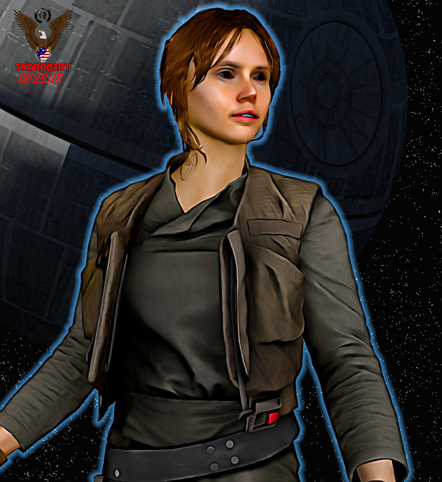 Rogue One A Star Wars Story Jyn Erso Jacket with Vest