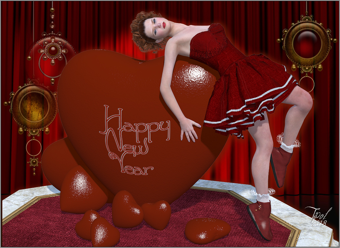 Happy New Year Renderosity team !!!! by Tipol