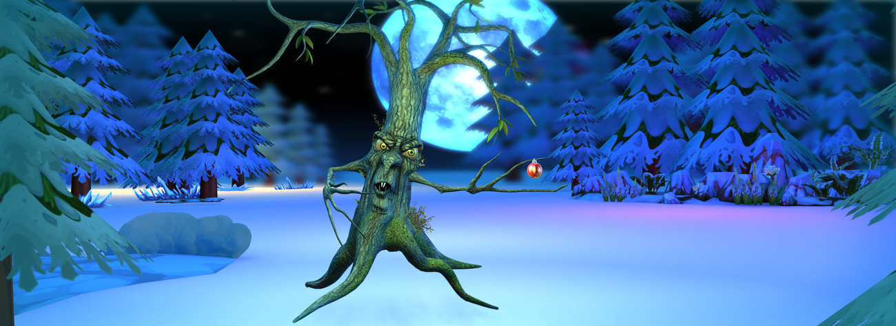 Christmas Ent + Spring Branches by Bleetz