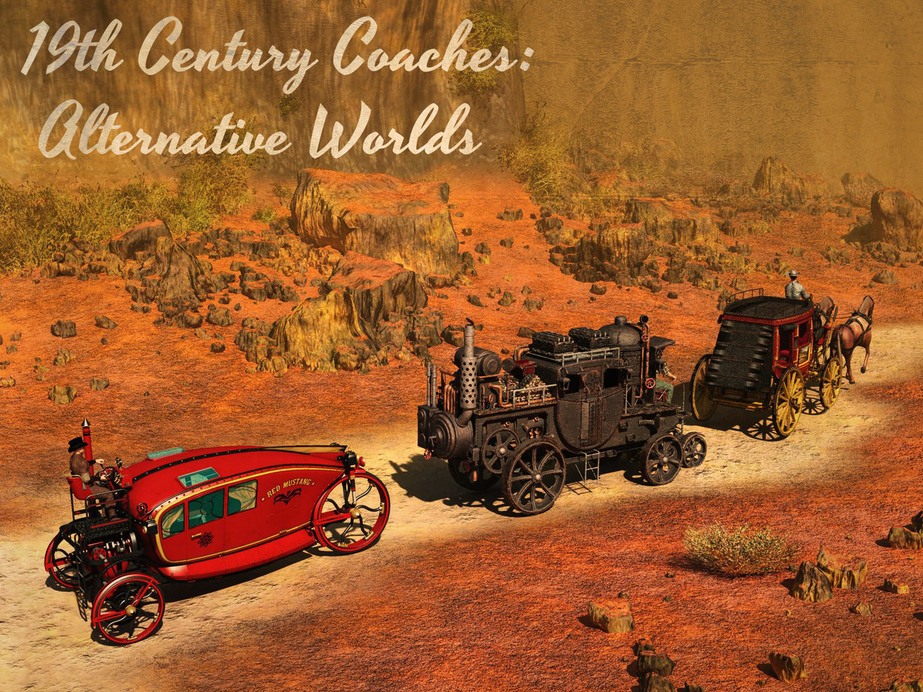 19th Century Coaches: Alternative Worlds