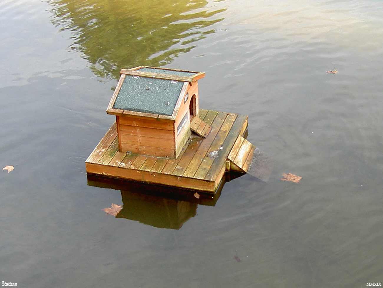 Floating Bird Box
