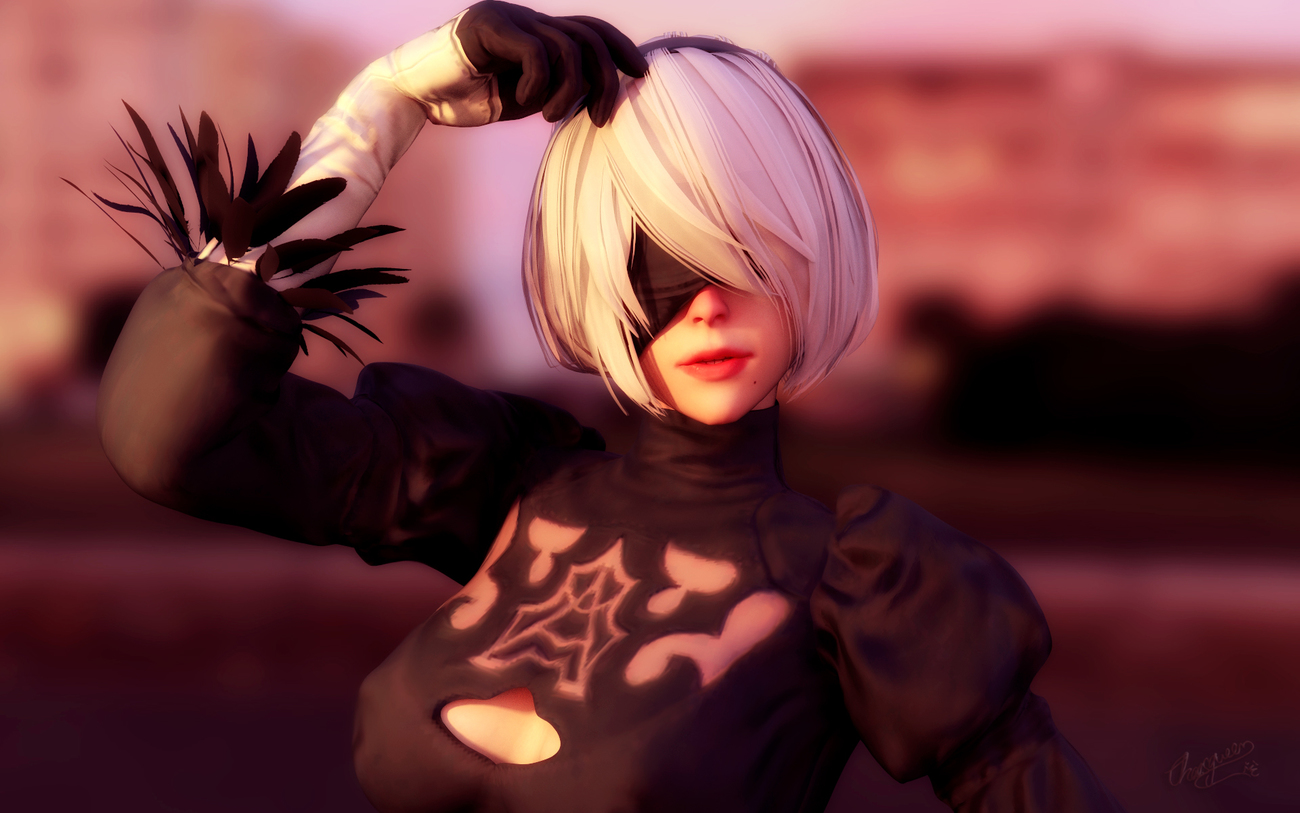 NIER AUTOMATA by Chaosqueens-World