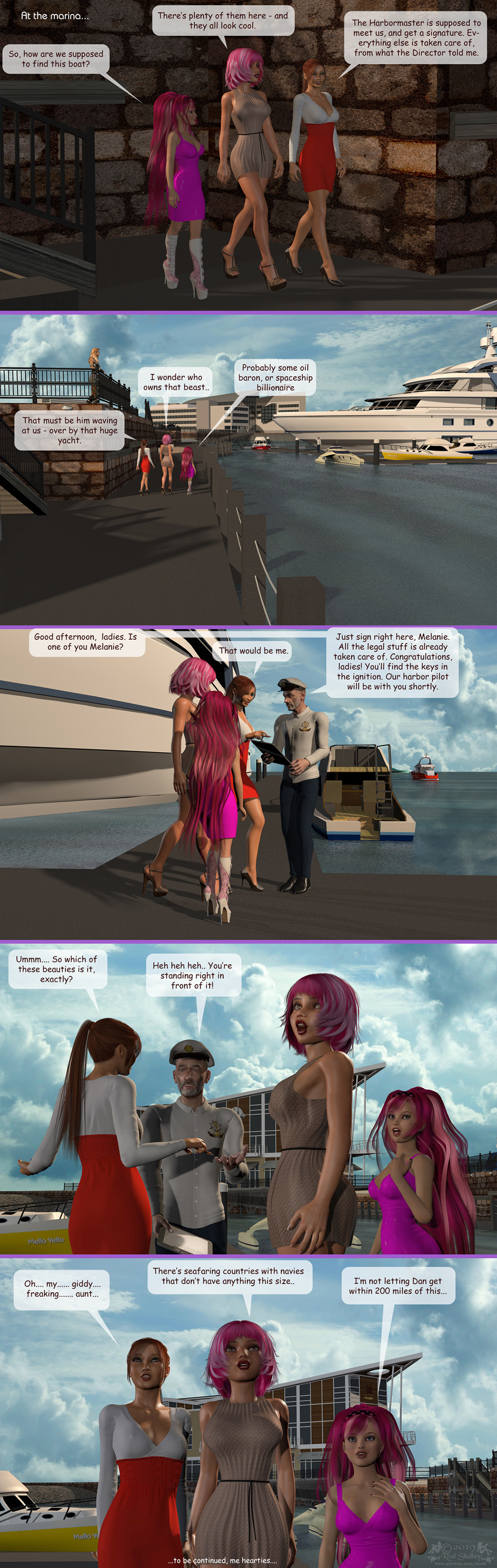Girls From T.N.A: Breitlenger Jar: Ch 6 Page 34