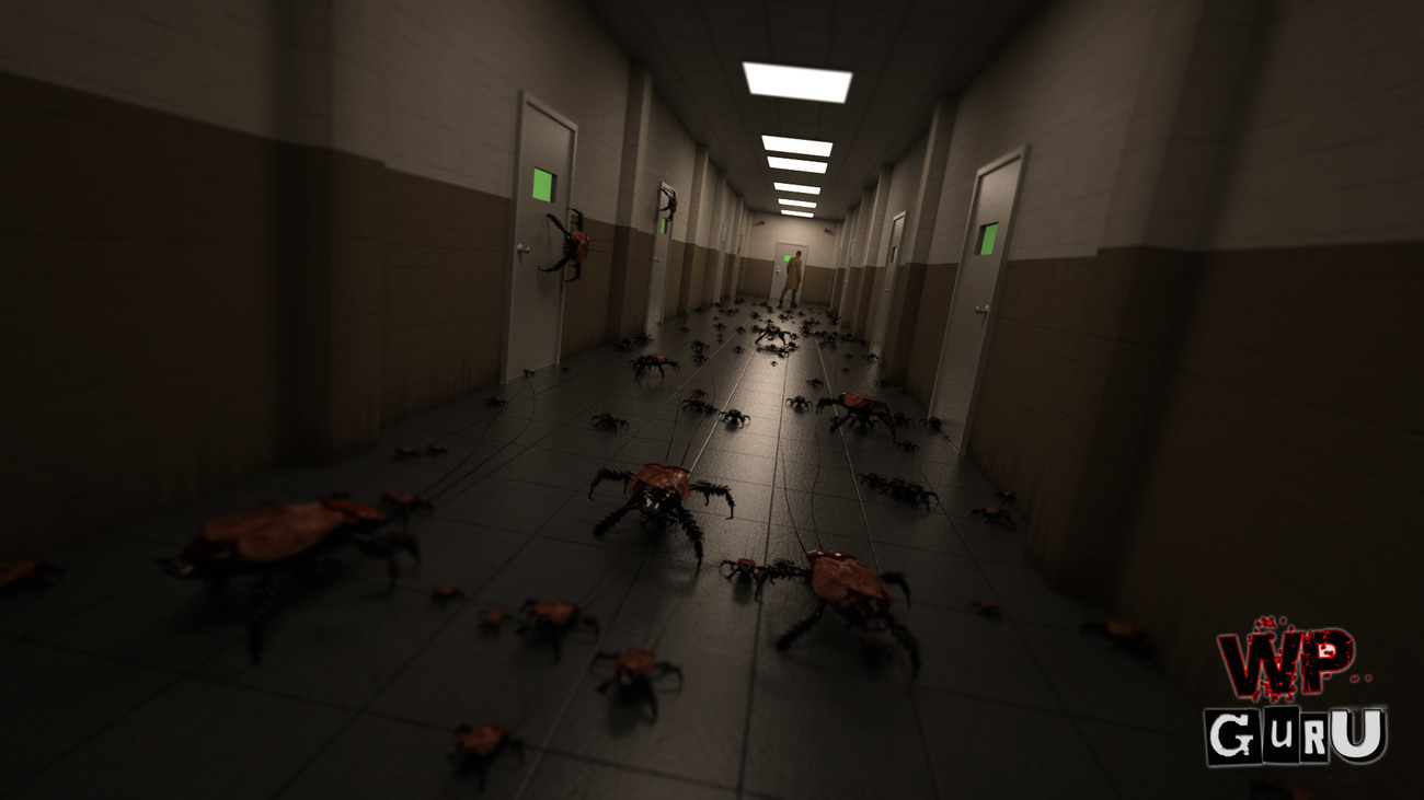 Creepy Corridor - now with more bugs (as built in