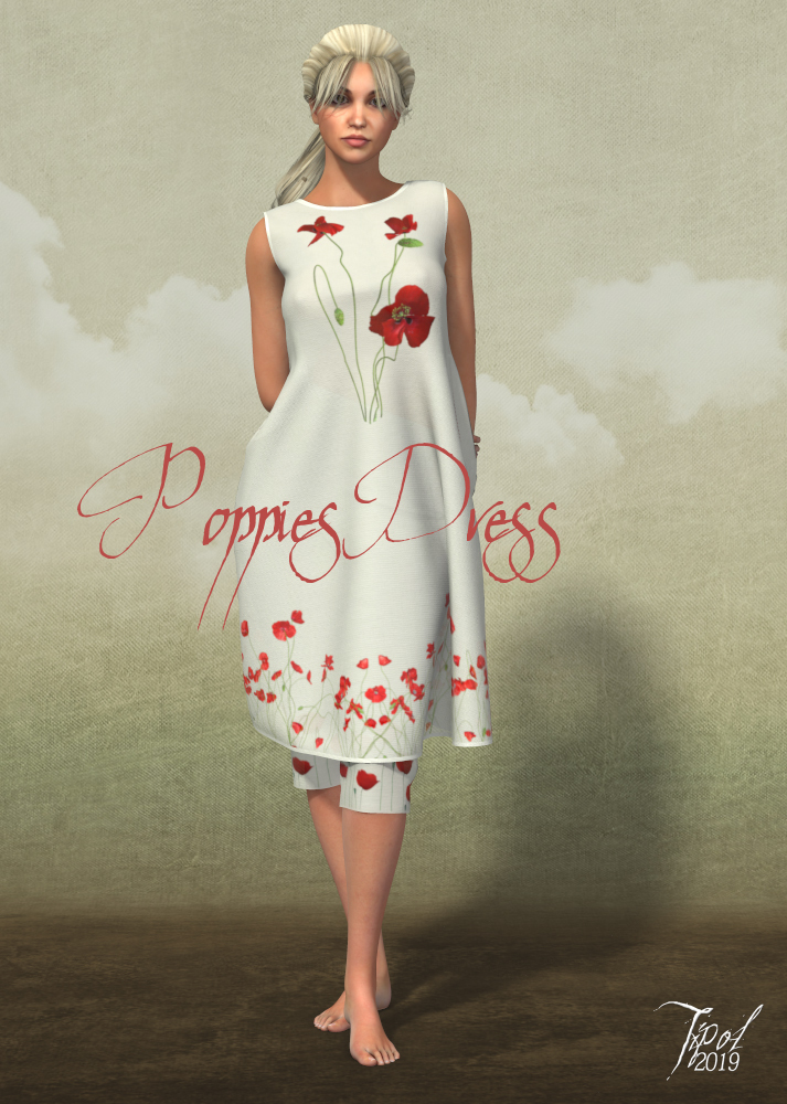 PoppiesDress for la Femme