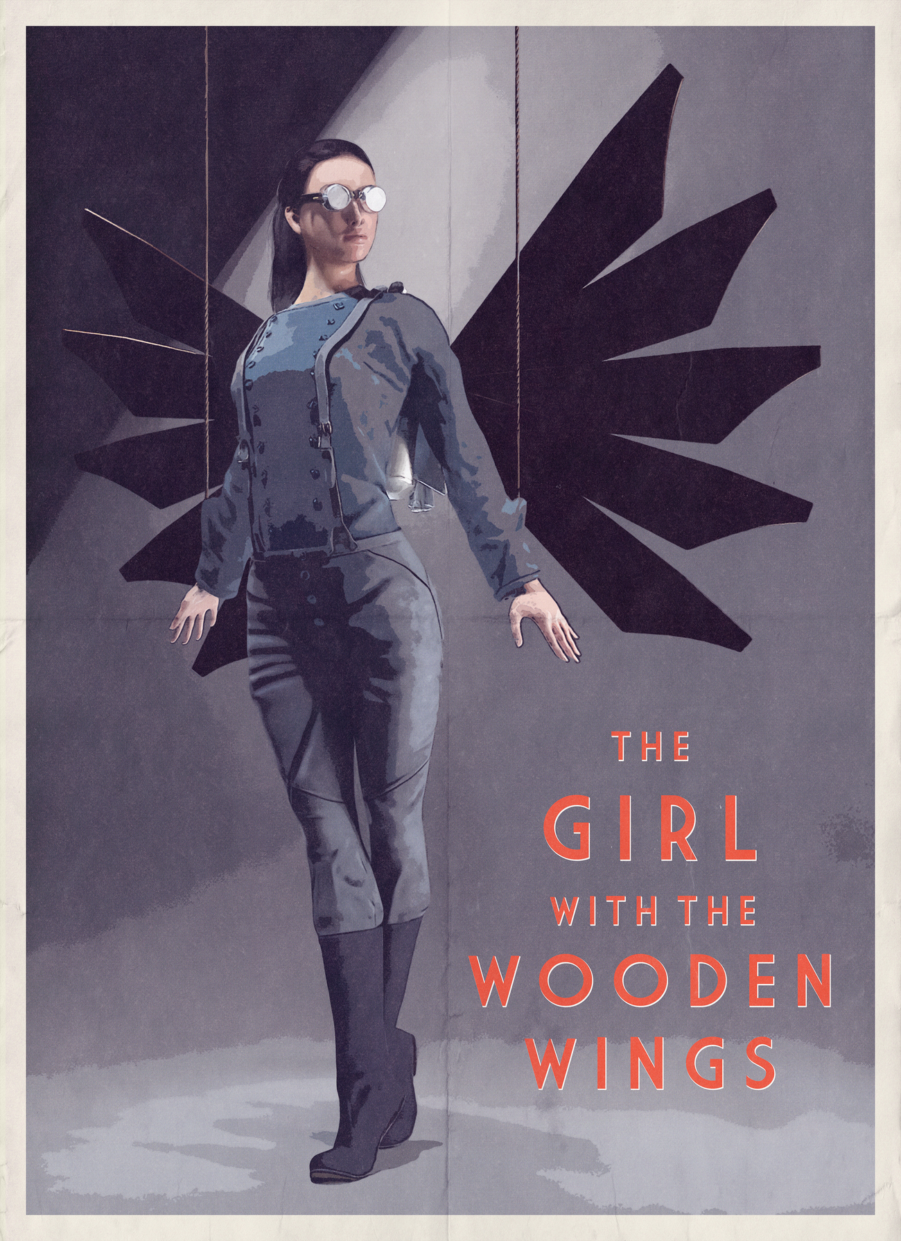 The Girl with the wooden wings